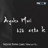 Physical Techno Label Show #17 pres   Ayako Mori b2b zeta k