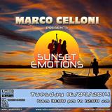 SUNSET EMOTIONS 105.1 (16/09/2014)