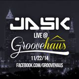 Jask live at Groovehaus Cleveland 11/22/14