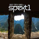 SPEKt1 - July 2014 Mix