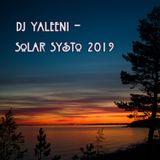 DJ Yaleeni - Solar Systo 2019