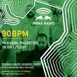 RBMA Radio - 14.11.2016 Konuk: 90BPM