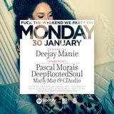 Deejay Manie LiveSet no. 4 @ Monday 30-01-17 (BOOGIE x SWINGBEAT x RNB x CLASSICS)