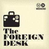 The Foreign Desk - Who's afraid of Margot Wallström?