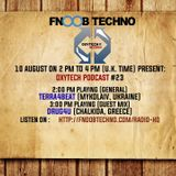 Oxytech Records Podcast on Fnoob Radio, Drug4u Guest Mix