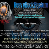 Heavy Rock Rapture May 2 2017 feat brand new Reuben Archer track