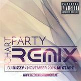 DJ Dizzy - Chart Party Remix: November 2016 (Mixtape)