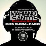 MARIANO SANTOS @ IBIZA GLOBAL RADIO [YEAR 2011]