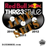 DJ Zimmie - 2010 / 2011 / 2012 Red Bull 3Style Sets
