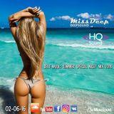 MissDeep  Best Music Summer Special Night Mix  Best of Deep House Nu Disco Dance Mix  02-06-18