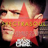 SpectraSoul (Shogun Audio) @ Bass Music China Guest Mix 009 (25.11.2013)