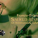 Franzis-D Guest Sacred Habitat 1St Anniversary @ On Tm-Radio - July 2013