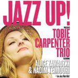 JazzUp! Nov 2018. Les Jazz Rats, supporting Tobie Carpenter Trio, Alice Zawadzki & Nadim Teimoori