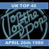 UK TOP 40 : 26TH APRIL 1980