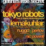 Tokyo Robots aka Trish & Klaina (4 turntable performance) @ Gravelines, France 2011