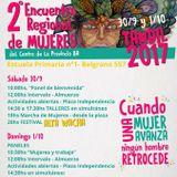 """Encuentro de Mujeres Provincia de Buenos Aires - """"Tarde o Temprano"""" Radio Mitre Tandil 93.1"""