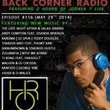 BACK CORNER RADIO: Episode #116 (May 29th 2014)