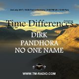 No One Name - Time Differences 269 (2nd July 2017) on TM-Radio