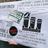 Reportage sur la manifestation à Besançon contre la sélection à l'entrée de l'Université