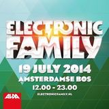 Sied van Riel – Live @ Electronic Family, Amstelveen – 19-JUL-2014