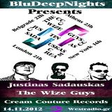 BluDeepNights on Westradio Vol.33 Aleksandar Savkovic,Justinas Sadauskas and The Wize Guys
