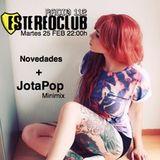 Jotapop Minimix exclusivo para EstereoClub Radio