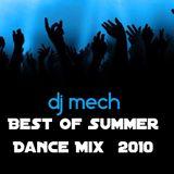 DJ MECH - Best of Summer Dance Mix  2010 ( commercial house)
