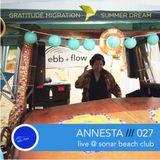 Annesta - Live Set @ Grattitude Migration - Sonar Beach Club 7-18-2015