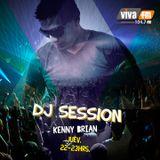 Kenny Brian @ Dj Sessions  VIVA FM 104.7 (Jueves 24 Julio 2014) Parte 2