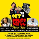 90S HOUSE PARTY PROMO MIX (90S - 00S RNB | BASHMENT | UKG | SLOW JAMS) - MARCH 2018