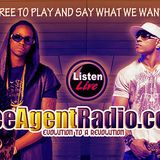 TURN UP TUESDAY WITH DJ SHIZZ ON FREEAGENTRADIO.COM EVERY TUESDAY AT 8PM