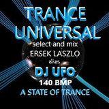 DJ UFO presents TRANCE UNIVERSAL MUSIC RECORDS  select and mix by ERSEK LASZLO alias DJ UFO