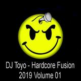 DJ Toyo - Hardcore Fusion 2019 Volume 01