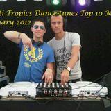 Dance-Tunes House Top 10 mix Januari by Multi Tropics