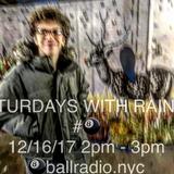 SATURDAYS WITH RAINER #8