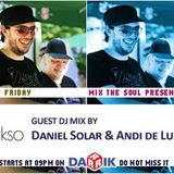 Daniel Solar & Andy De Luxe Guest Mix (Broadcasted on 22.07.2011 Mix The Soul with Vladislav Moustac