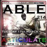 ARTICULATE - ABLE 214 - BRING THE NOISE