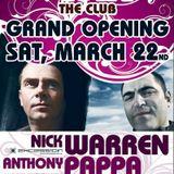 Nick Warren, Anthony Pappa, Dandy - Live @ Flört Club, Siófok (2008.03.22)
