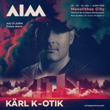 dj karl k-otik - chaos in the stratosphere episode 227 - AIM electronic music festival 2019 promo