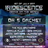 KISMET B2B SPARKI-DEE Live @ IRIDESCENCE - Decks on the Beach - White Cliffs, Saltdean - 01/07/17