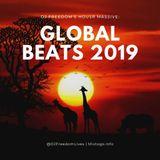 "DJ Freedom's ""House Massive: Global Beats 2019"" (afro house, soulful global beats) OCT 6 2019"