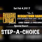 REGGAETOWN - FEBRUARY 4 2017