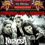 Fernanda Lira - Nervosa Interview 2014