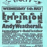 Andrew Weatherall at Herbal Tea Party (Manchester - UK) - 5 July 1995