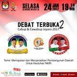 #DebatCabupJPR2017 Debat Cabup Cawabup Jepara II (24/1/2017)