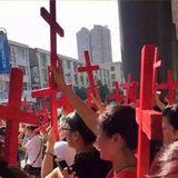 Les eglises chretiennes tres ciblees en Chine