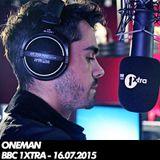 Oneman - 60 Minutes Mix - BBC 1xtra - 16/07/2015