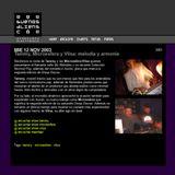 2003 Tammy Microesfera y Vlisa - Melodia y Armonia (Entrevista)
