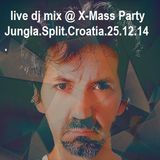 Pero FullHouse - live dj mix @ X- Mass Party @ Underground Jungla 25.12.2015.