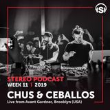 WEEK11_19 Chus & Ceballos Live from Avant Gardner, Brooklyn, NY (USA)